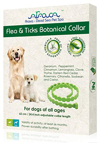 Arava Enhanced Control & Defence flea collar for dogs