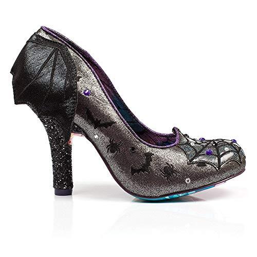 Irregular Para Choice Negro Vestir Zapatos Mujer Sintético De OraUqwO