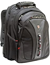 Swissgear Legacy Backpack. Fits Up To 15.6In Laptop, Black, Checkpoint Friendly . Polyester, Vinyl Product Type...