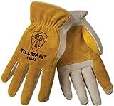 Tillman 1464 Top Grain Cowhide/Split Drivers Gloves, Small