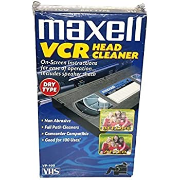 Maxell - Video Head Cleaner - Dry