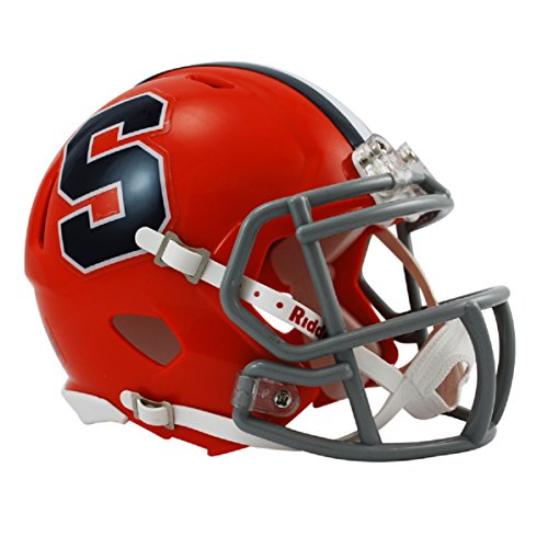 (NCAA Syracuse Orangemen Speed Mini Helmet)