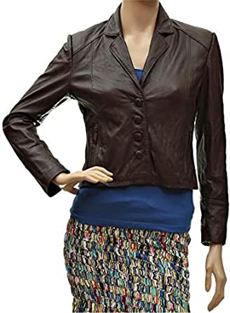 Gig Brown Mixed Leather For Women