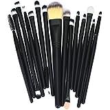 Makeup Brush,Canserin 15pcs Makeup Brush Set tools Make up Toiletry Kit Wool Make Up Brush Set
