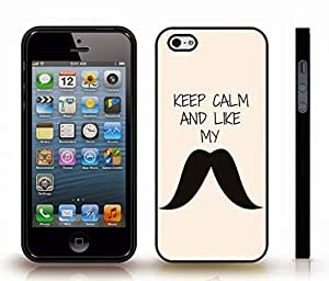 """iStar Cases? iPhone 4 Case with """"It's not the size of the dog..."""" Mark Twain Quote, Inspirational, Grey Font on Light Grey Gradient , Snap-on Cover, Hard Carrying Case (White)"""