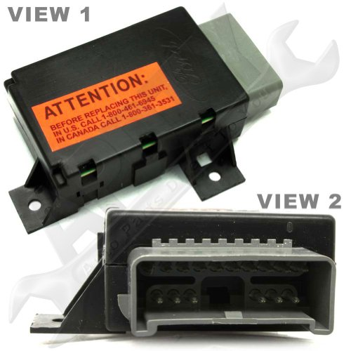 F77z10k910aa Lamp Out Warning Control Module New Oem Ford