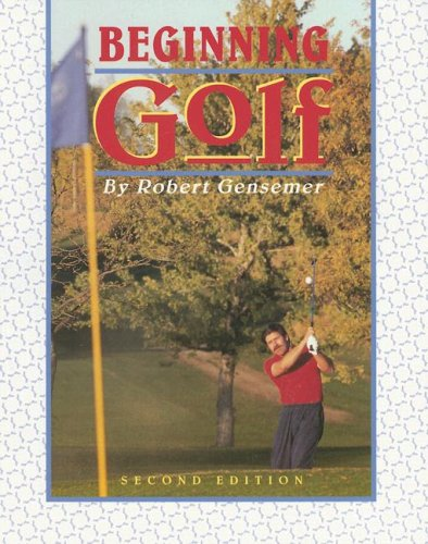 Beginning Golf (Morton Activity Series)