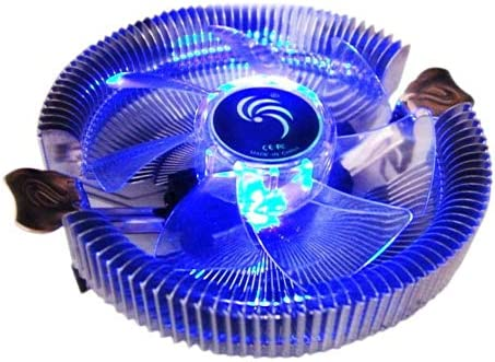 CPU Cooling Fans USB Cooling Fan for Computer Case CPU Cooler Radiator with Blue Light Computer Accessories CPU Cooling Fans