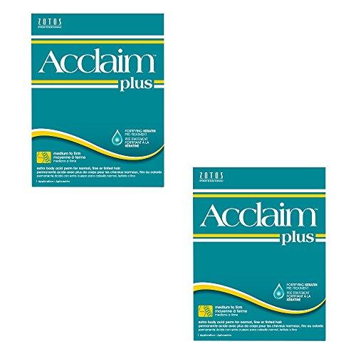 ZOTOS Salon Acclaim Plus Extra Body Acid Perm Normal Fine Hair HP-40721 (2 Pack)