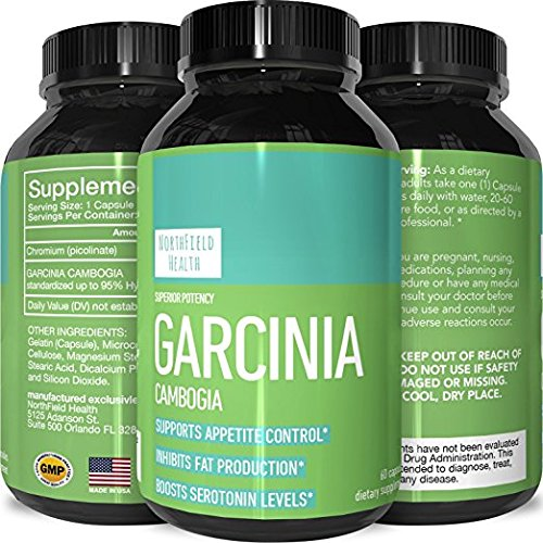 bogia Extract Weight Loss Pills for Men & Women - Fat Burn Supplement Carb Blocker Appetite Suppressant Metabolism Boost - Pure Garcinia Cambogia with Chromium (Chromium Appetite Suppressant)