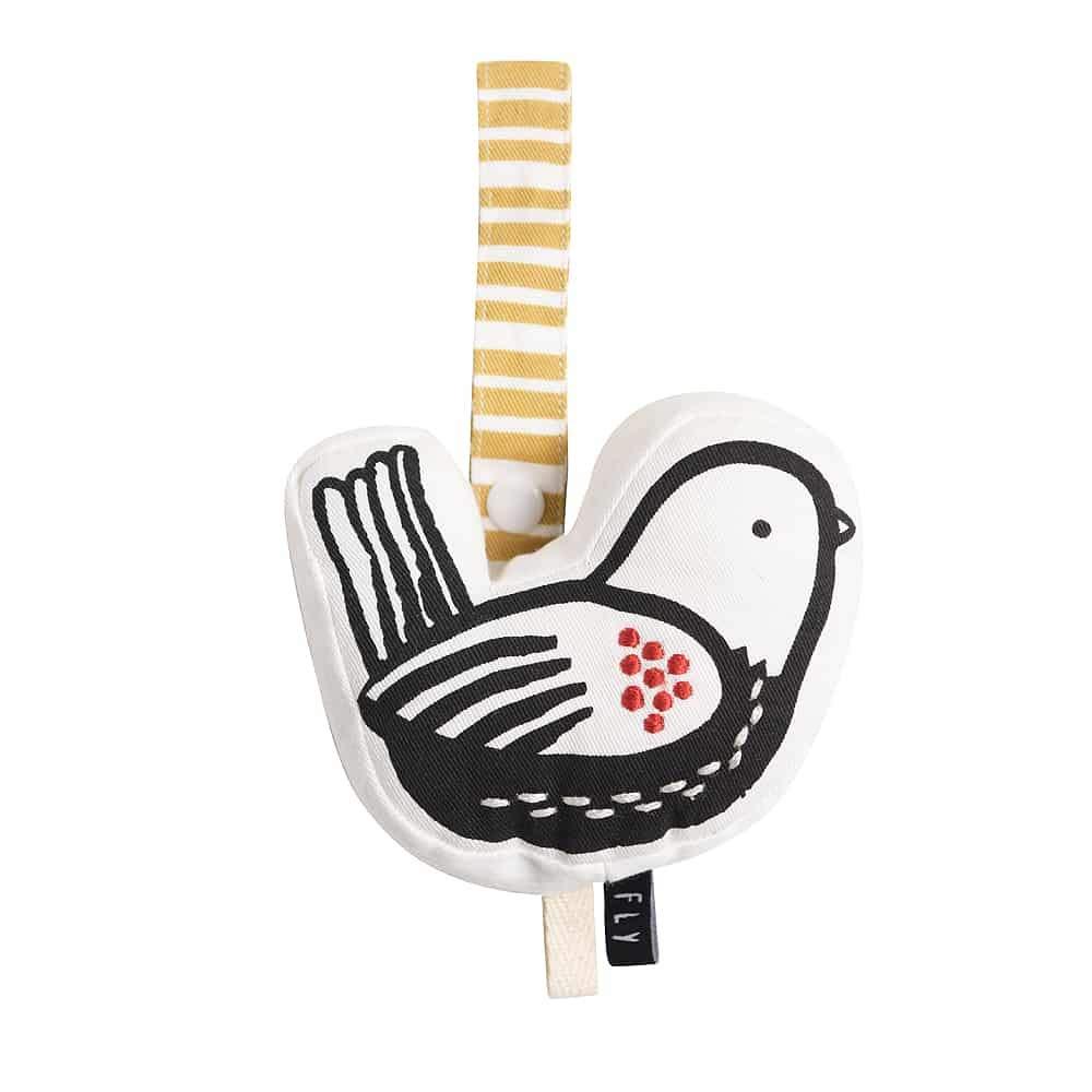 Wee Gallery, Birdie Stroller Toy, Organic Cotton