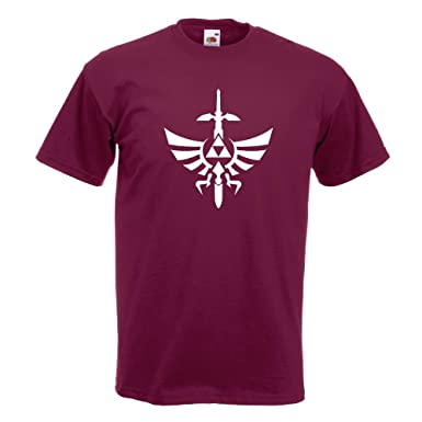 KIWISTAR - Triforce - The Legend of T-Shirt in 15 verschiedenen Farben -  Herren