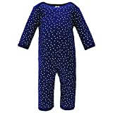 Hudson Baby Unisex Baby Cotton Coveralls, Little