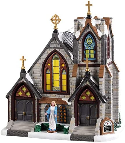 Lemax Village Collection St. Matthew`s Church 95506