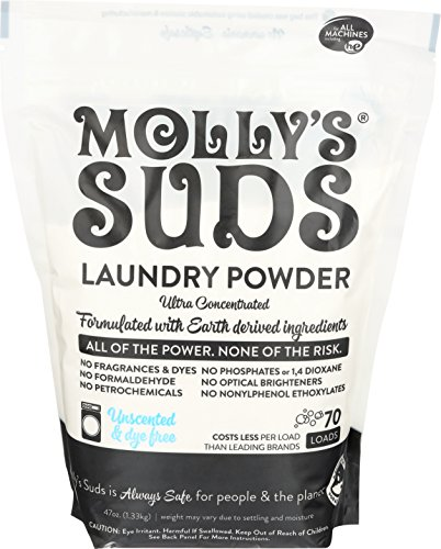 Molly's Suds Unscented Laundry Detergent Powder