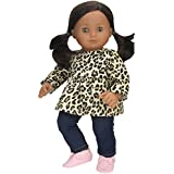 Sophia's 15 inch Doll Clothing Cheetah Print Tunic & Leggings Fits 15 Inch American Girl Bitty Baby Dolls & More! 2 Pc Baby Doll Clothes Set with Cheetah Print