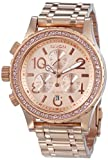 Nixon A404-897 Ladies 38-20 Chrono All Rose Gold Watch