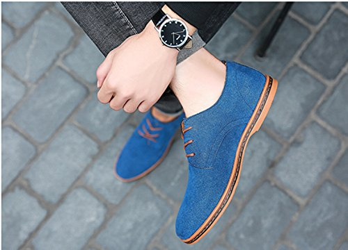 Shoes Large Men 48 Leather 50 Extra Blu Men's 49 Casual Bebete5858 Moda Size Especially 6PxqA