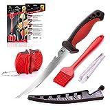Best Fish Fillet Knives - Dacodget 6.5 inch Fillet Knife Kit | Multifunctional Review