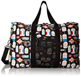 LeSportsac Large Global Weekender Carry On Bag, Boarding Pass, One Size