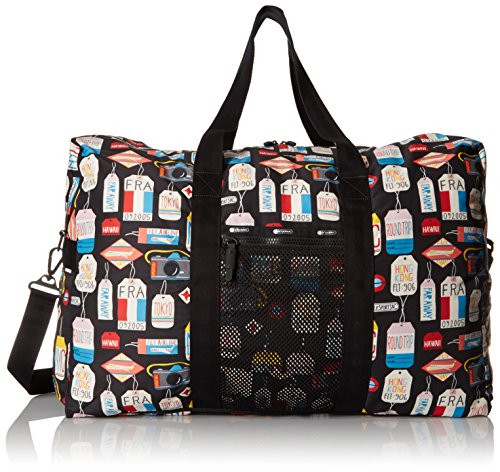 LeSportsac Large Global Weekender Carry On Bag, Boarding Pass, One Size by LeSportsac