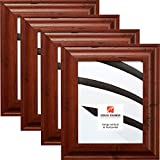 Craig Frames 76004 13 x 19 Inch Picture Frame, Rustic Brown, Set of 4