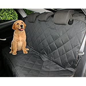 Petastical Best Dog Seat Covers for Cars | Luxury Pet Car Seat Covers for Dogs | Side Flaps | Backseat Hammock | Quilted… Click on image for further info.