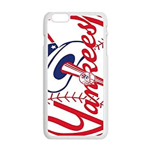 Happy new york yankees logo Phone Case for Iphone 6 Plus