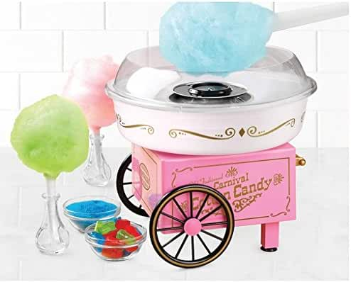 Multi/Pink Vintage Collection Hard and Sugar-free Candy Cotton Candy Maker (1)