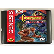 Games Cartridge - Castlevania Bloodlines only NTSC-U Available For 16 bit Sega MegaDrive Genesis Sega Game console
