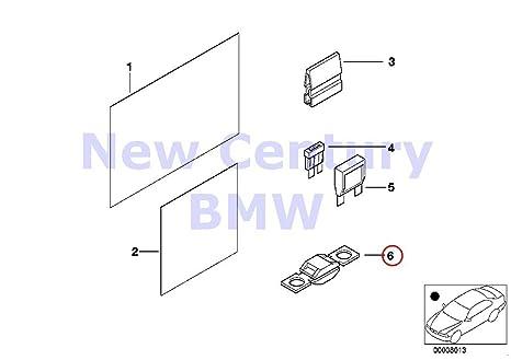 Amazon.com: BMW Genuine Single Components For Fuse Housing ... on bmw 740il fuse box, bmw 328i fuse box, bmw z3 fuse box, bmw 528i fuse box, bmw 323i fuse box, bmw 325ci fuse box, bmw 530i fuse box, bmw 650i fuse box, bmw 330i fuse box, bmw 325xi fuse box, bmw 750il fuse box, bmw 535i fuse box, bmw 550i fuse box,