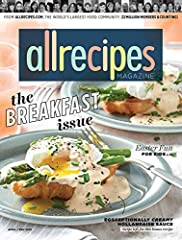Plan dinner tonight and every night with the help of Allrecipes magazine! This food and cooking magazine offers recipes for every occasion imaginable and gives you easy-to-follow instructions to craft delicious meals for you and your family. ...