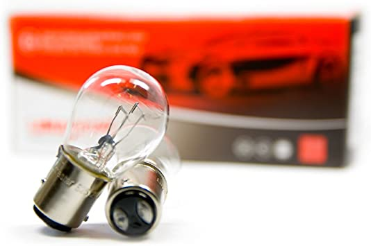 10 Stück Bay15d S25 P21 5w Birnen Lkw Bus Lampen 3200k 21 5w Weiß 24v Auto