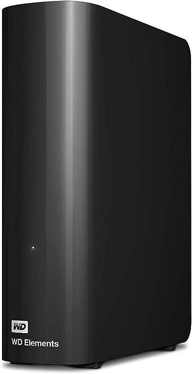 TALLA 6TB. WD Elements Desktop - Disco duro externo de sobremesa de 6 TB, color negro