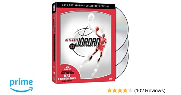 newest 0e97b 247f7 Amazon.com  NBA  Ultimate Jordan (20th Anniversary Three-Disc Collector s  Edition)  Charles Barkley, Jack Haley, Phil Jackson, Magic Johnson, Michael  Jordan ...