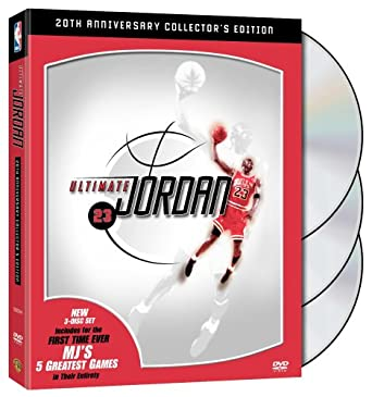 e07040374 NBA  Ultimate Jordan (20th Anniversary Three-Disc Collector s Edition)