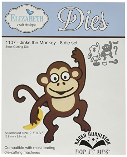 Elizabeth Craft Designs Elizabeth Craft Pop It Up Metal Dies by Karen Burniston-Jinks The Monkey