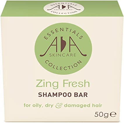 Pastilla de champú Zing Fresh de 50 g. Para cabello graso, seco o ...