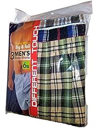 Men's Big Tall Boxer Shorts   Amazon.com
