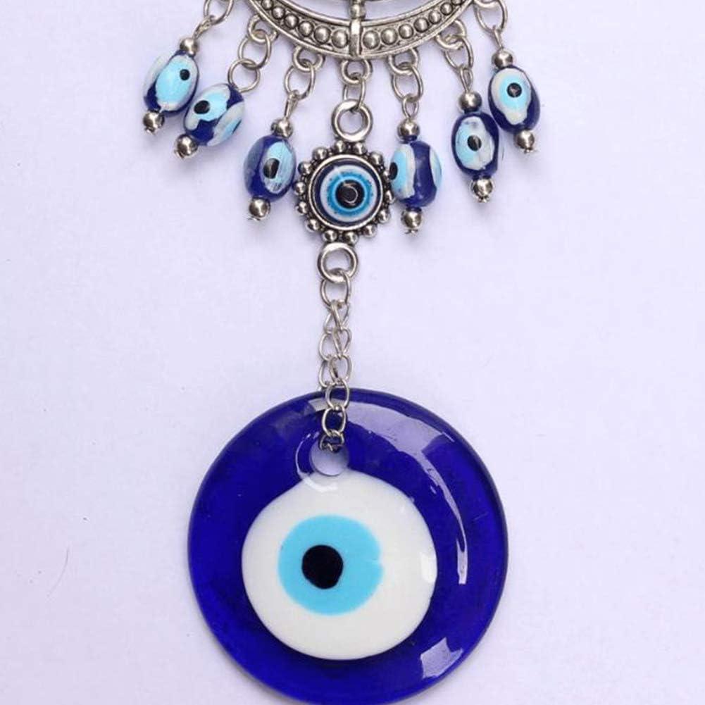 elegantstunning Amuleto Blu dellocchio Turco per la benedizione della Decorazione dattaccatura della Parete dellinterno