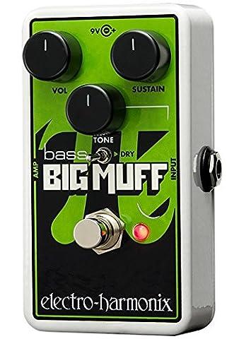 Electro-Harmonix Nano Bass Big Muff Bass Distortion Effects Pedal (Bass Pedal Fuzz)