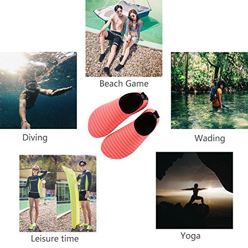 Donppa Shoes Water Women Dry Swim Pool Barefoot Surf Skin Yoga Pink Beach Aqua Men Exercise Quick Socks q1qRScpf