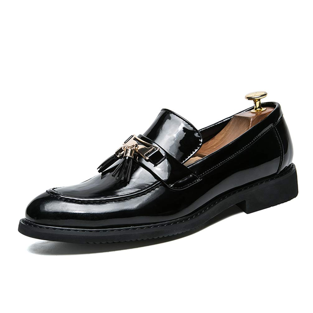 Phil Betty Mens Oxford Shoes Slip-On Comfortable Breathable Formal Shoes