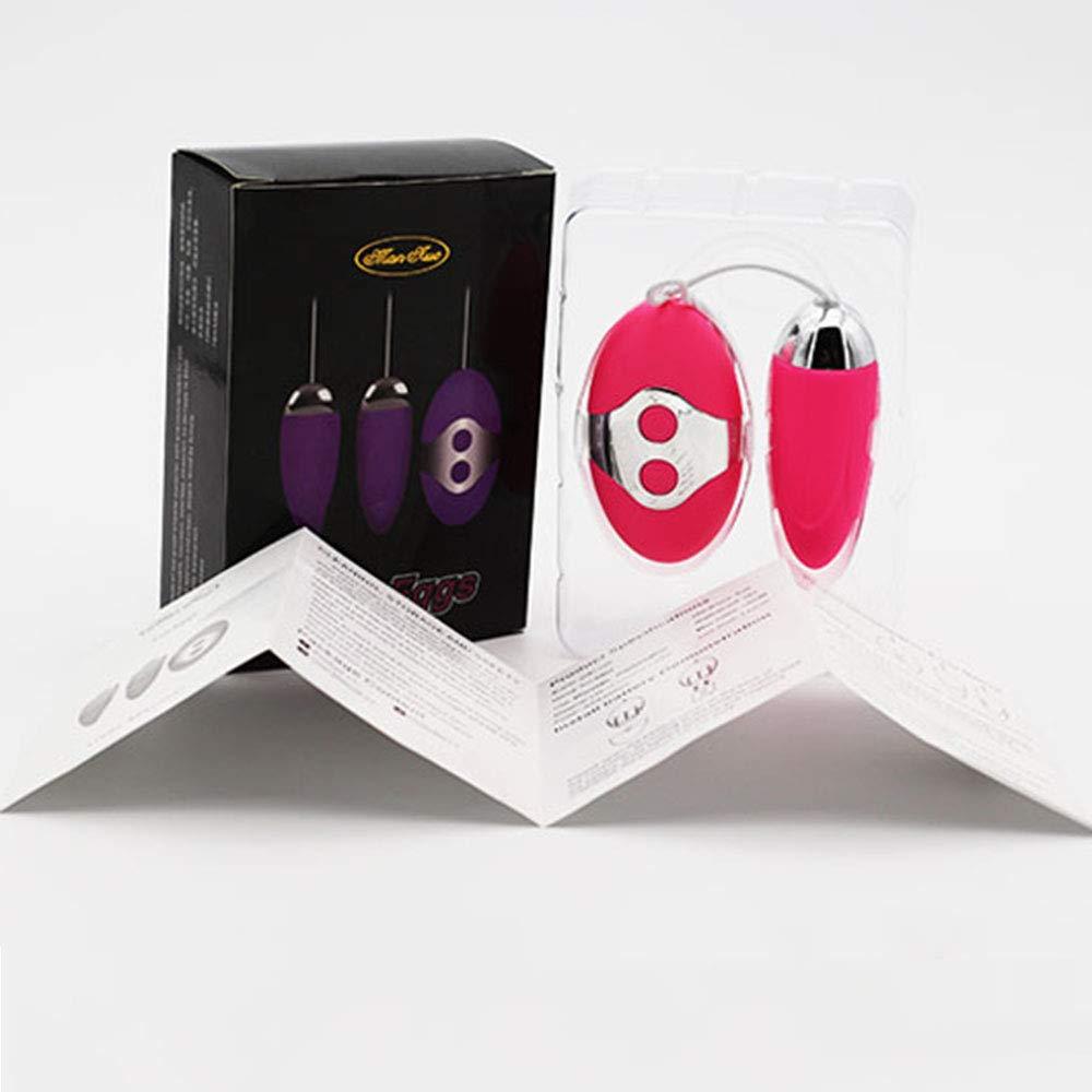 10 Frecuencias Vibradores Bolas Chinas,Mujer Clítoris Estimulación Clítoris Chinas,Mujer Silicona Juguetes Eróticos,Purple c68c51