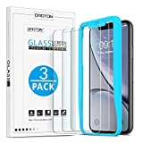OMOTON Tempered Glass Screen Protector Compatible with Apple iPhone XR 6.1 inch [3 Pack]