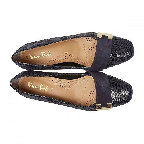 Azul De Corte Mujeres Dal Marino Zapatos Las Duquesa Van P1Zqf00wv