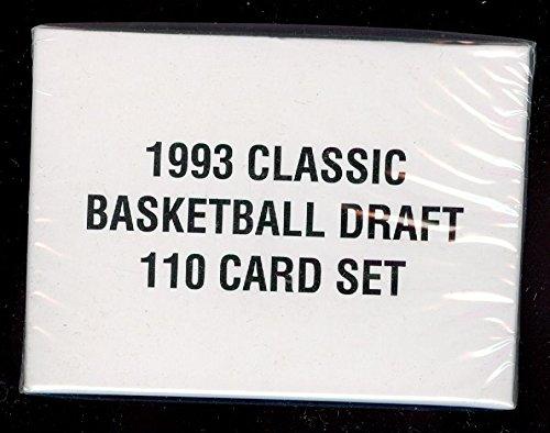 1993 Classic Draft Basketball Complete Box Set Chris Webber Rookie Card -