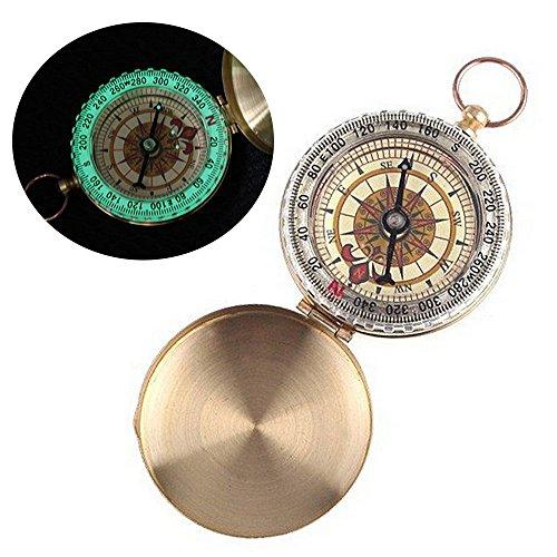 ezyoutdoor-survival-navigation-tool-outdoor-mini-copper-compasses-water-resistant-north-arrow-retro-