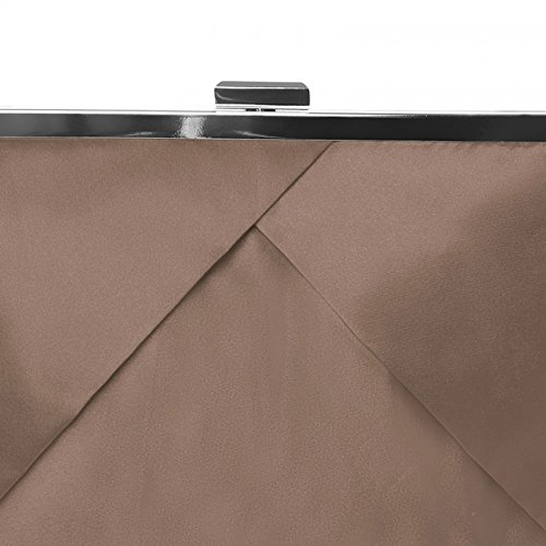 Soirée Caspar Sac Au Plusieurs De En Pour Coloris Stylé Femme Classique Satin Bronze Pochette Design Ta320 rqzr8xE