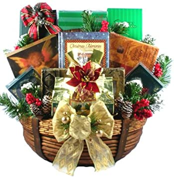 gift basket village a christian christmas gift basket large christian themed christmas gift basket